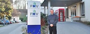 Entrée de FHV Informatique